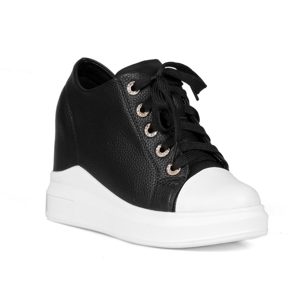 b5a8e892889 Mango Women s Hidden Wedge Fashion Sneakers